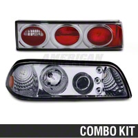 Chrome Projector LED Headlight and Tail Light Combo (87-93 All)