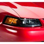 Black Stock Replacement Headlights (99-04 All) - AM Lights 49092
