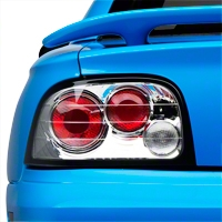 Chrome Altezza Tail Lights (94-95 All) - AM Lights ALT-YD-FM94-C