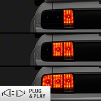 Raxiom LED Sequential Tail Light Kit - Plug-and-Play (05-09 All) - Raxiom 49221