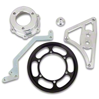 Metco Motorsports Crank Pulley Kit - 4lb Boost (03-04 Cobra) - Metco Motorsports ICPCOBRA1-4