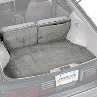 Replacement Hatch Carpet - Titanium Gray (87-93 All) - AM Floor Mats 3296-857