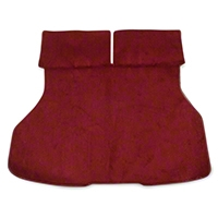 Replacement Hatch Carpet - Red (87-93 All) - AM Floor Mats 3296-4305