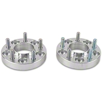 Billet Aluminum Hubcentric Wheel Spacers - 1 in. - Pair (94-14 All)