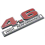 Red 4.6 High Performance Emblem