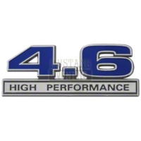 Blue 4.6 High Performance Emblem