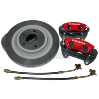 Ford Racing Red 10th Anniversary Cobra Brake Upgrade Kit (Front Only)