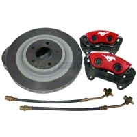 Ford Racing Red Mach 1 Brake Upgrade Kit (Front Only) - Ford Racing 50047