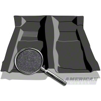 Replacement Floor Carpet - Dark Charcoal (94-04 All) - AM Floor Mats 10142-7701