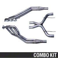 Ford Racing Long Tube Header and Off-Road X-Pipe Combo (05-10 GT) - Ford Racing M-9430-MC