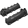 Ford Racing Laser Etched Valve Covers - Black (05-10 GT) - Ford Racing M-6582-FR3VBLK