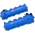 Ford Racing Laser Etched Valve Covers - Blue (05-10 GT) - Ford Racing M-6582-FR3VBL