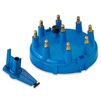 Performance Distributors Replacement Cap & Rotor Kit - Blue (86-95 5.0L) - Performance Distributors DUI-34100BL