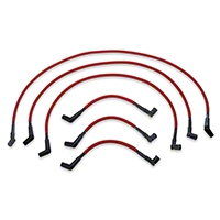 Performance Distributors Livewires 10mm Spark Plug Wires - Red (01-04 V6) - Performance Distributors DUI-C1009RD