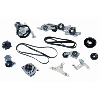 Ford Racing Aluminator 4.6L 4V Accessory Drive Kit - Ford Racing M-8600-A46SC