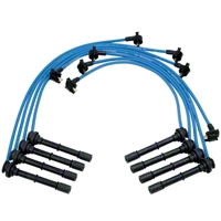 Ford Racing High Performance 9mm Spark Plug Wires - Blue (96-98 Cobra) - Ford Racing M-12259-C464