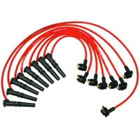 Ford Racing High Performance 9mm Spark Plug Wires - Red (96-98 GT) - Ford Racing M-12259-R462