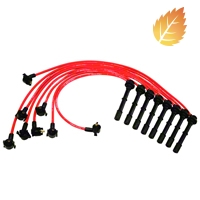 Ford Racing High Performance 9mm Spark Plug Wires - Red (96-98 Cobra) - Ford Racing M-12259-R464