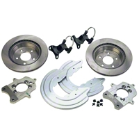 Ford Racing Rear Caliper Bracket Kit with Rotors (94-04 GT, V6) - Ford Racing M-2300-M
