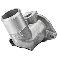 Ford Racing 90 Degree Thermostat Housing (79-95 5.0L, 5.8L) - Ford Racing M-8592-M90
