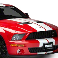 Ford Racing GT500 Hood - Unpainted (07-09 GT500) - Ford Racing M-16612-C