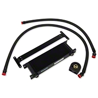 Ford Racing BOSS 302 Heavy Duty Engine Oil Cooler Kit (11-14 GT; 12-13 BOSS) - Ford Racing M-6642-MBA