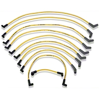 Ford Racing High Performance 9mm Spark Plug Wires - Yellow (79-95 5.0L) - Ford Racing M-12259-Y301