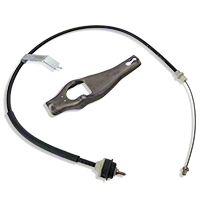 Ford Racing Clutch Cable and Fork (79-93 5.0L) - Ford Racing M-7553-A302