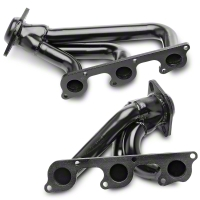 PaceSetter Black Shorty Headers (05-10 V6) - Pace Setter 70-1073