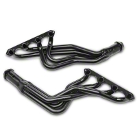 PaceSetter Black Long Tube Headers (79-93 5.0L) - Pace Setter 70-3226