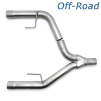Pace Setter Offroad Y-Pipe (05-10 V6 w/ Long Tube Headers) - Pace Setter 82-1128