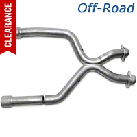Pace Setter Offroad X-Pipe (96-04 GT w/ Long Tube Headers) - Pace Setter 82-1146