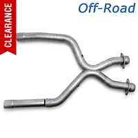 Pace Setter Offroad X-Pipe (01-04 V6 w/ Long Tube Headers) - Pace Setter 82-1126