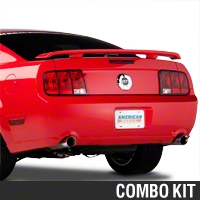 Brake Light Dress-up Kit - Black (05-09 All) - AM Exterior 52001||52002||52005||KIT
