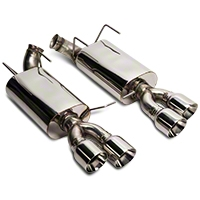 Kooks Performance Axle-Back Exhaust w/ Quad Tips (13-14 GT500) - Kooks 162620