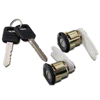 Door Lock Set - Black (94-95 All) - AM Restoration PY1591