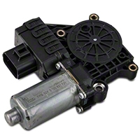 Remanufactured Power Window Motor - Front Driver Side (05-09 All; 10 GT, GT500) - AM Restoration 42-3070