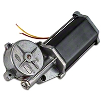 Remanufactured Power Quarter Window Motor - Driver Side - Convertible (84-93 All) - AM Restoration 42-37
