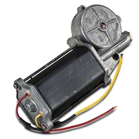 Remanufactured Power Quarter Window Motor - Passenger Side - Convertible (84-93 All) - AM Restoration 42-38