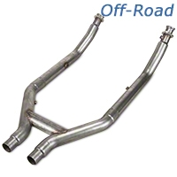 Stainless Works Off-Road H-Pipe (07-10 GT500) - Stainless Works 525561