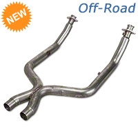 Stainless Works Off-Road X-Pipe (11-14 GT500) - Stainless Works 525562