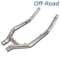 Stainless Works Off-Road H-Pipe (11-14 GT500) - Stainless Works 525563