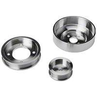 SR Performance Underdrive Pulleys - Polished (94-95 5.0L) - SR Performance 525570