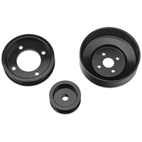 SR Performance Underdrive Pulleys - Black (94-95 5.0L) - SR Performance 525571