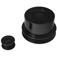 SR Performance Underdrive Pulleys - Black (94-98 V6) - SR Performance 525573
