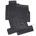 Ford Racing All Weather Floor Mats w/ Pony Logo (05-10 All) - Ford Racing AR3Z-6313300-B