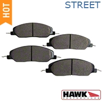 Hawk Performance Ceramic Brake Pads - Front Pair (05-14 GT, V6) - Hawk Performance HB484Z.670