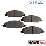 Hawk Performance Ceramic Brake Pads - Front Pair (05-14 GT, V6) - Hawk Performance (Carlisle Products) HB484Z670