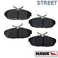 Hawk Performance Ceramic Brake Pads - Rear Pair (05-14 All) - Hawk Performance (Carlisle Products) HB485Z656