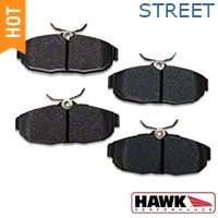 Hawk Performance Ceramic Brake Pads - Rear Pair (05-14 All) - Hawk Performance HB485Z.656